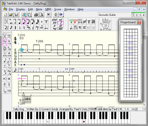 free  software midi guitar